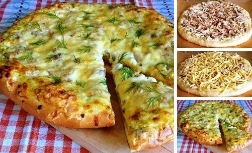 Деревенская пицца фото