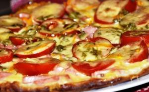 Пицца на сковороде фото