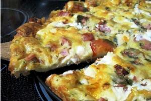 Рецепт пиццы минутка фото