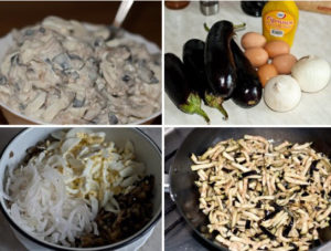 Вкусный салат из баклажанов