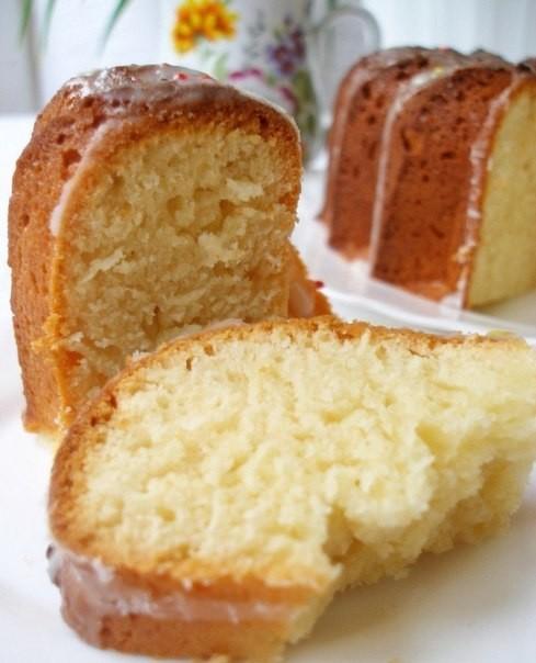 Творожный кекс по ГОСТу Очень вкусный, нежный и пышный кекс!