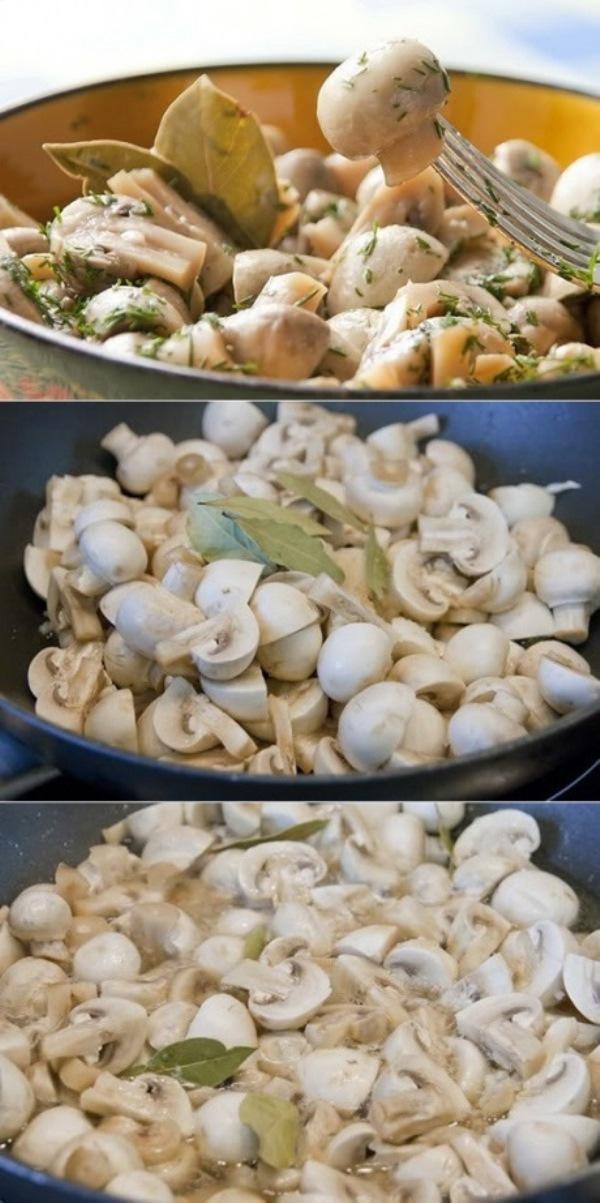 РЕЦЕПТ ДНЯ — грибочки в легком маринаде. ФИРМЕННЫЙ РЕЦЕПТ МОЕЙ МАМЫ! 25 минут и шедевр готов.