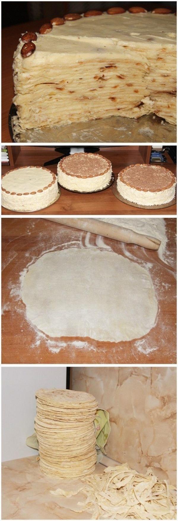 Торт Наполеон на сковороде ВСЕГДА получается на ура. Готовлю за 20 минут! Детки просят каждые выходные.