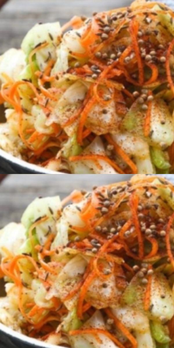 Быстрая капуста по-корейски маринованная закуска получается такой вкусной, что обязательно придется вам по вкусу.