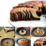Этот невероятно вкусный пирог «Зебра» сметут за пару минут