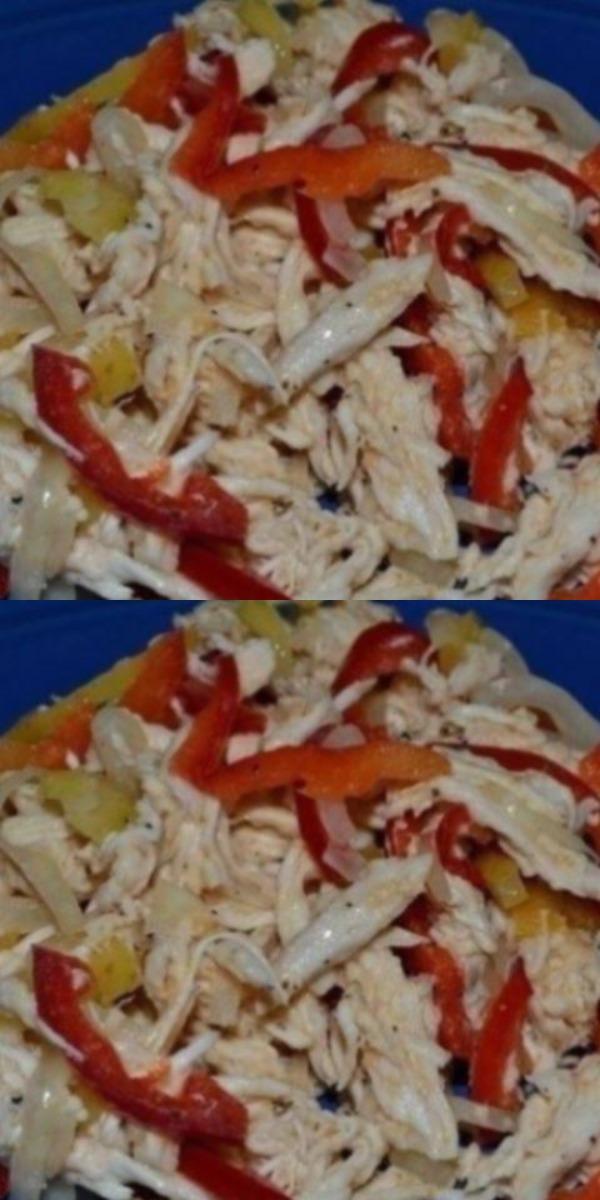 Очень питательный и полезный салатик - вкусно и просто!