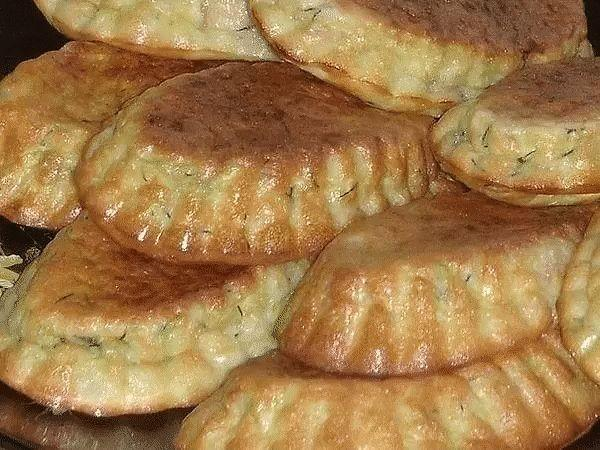Летняя фишка - кексы из кабачков с беконом и зеленью