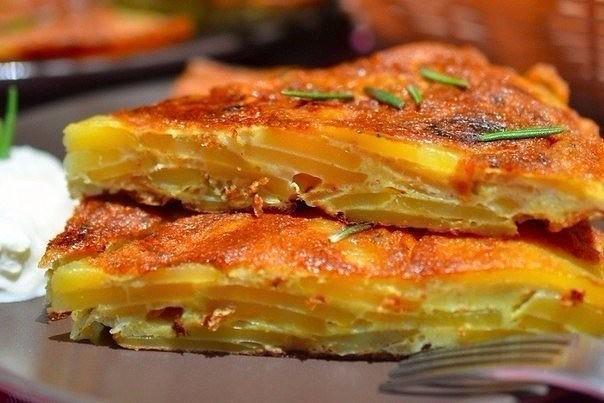 Испанская тортилья с розмарином - вкуснее не едала