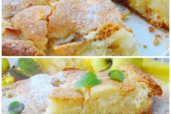 Очень вкусный пирог с грушами