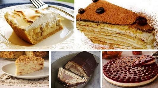 Торт из печенья фото