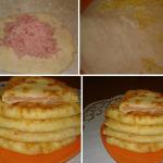 Сырные лепешки рецепт фото