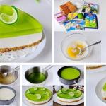 Желейный торт без выпечки фото
