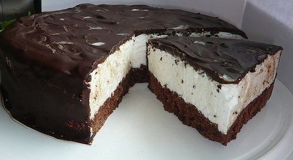 Быстрый торт Птичье молоко фото