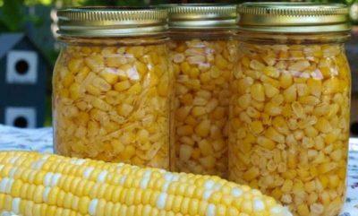 Консервированная кукуруза на зиму