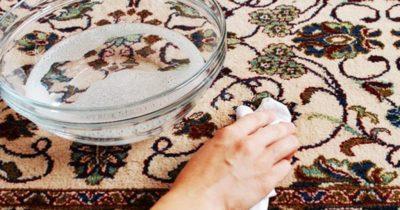 Волшебное средство для мытья ковра