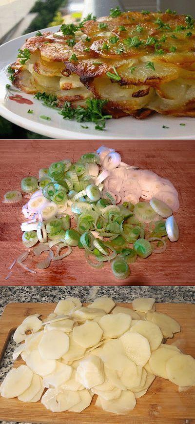 """Картофель """"Анна"""" - блюдо, от которого все облизывают пальчики"""
