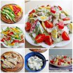 Диетический куриный салатик Этот вкусный, сытный и полезный салатик. Сохрани рецепт себе