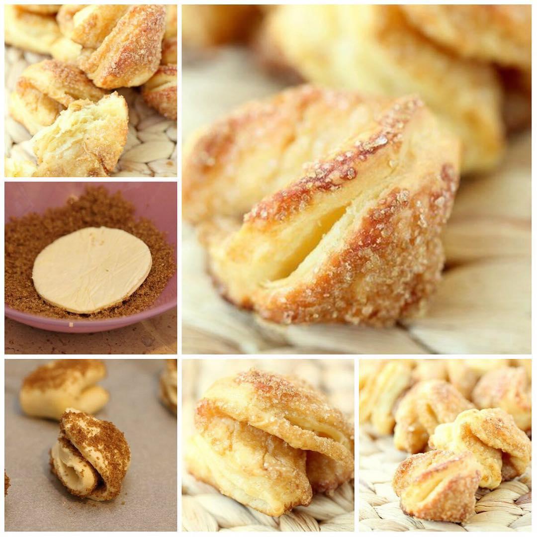 Творожное печенье ракушки «Гусиные лапки»