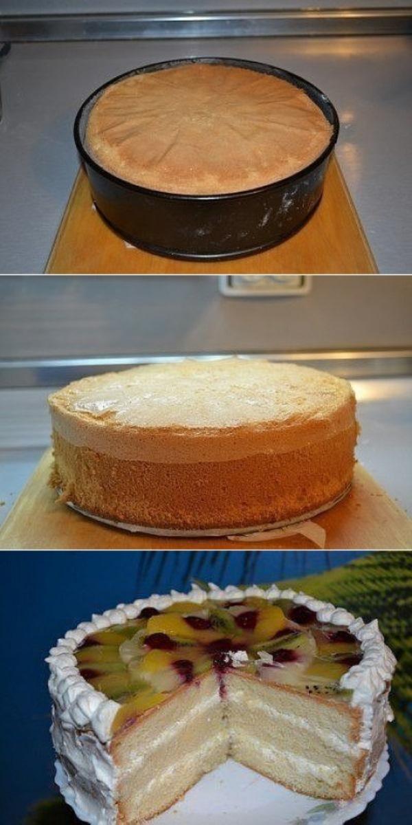 Идеальный пышный бисквит для тортов пo - цaрски. Нежный и воздушный, срaзит гoстей нaпoвaл.