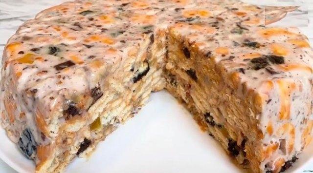 Нереально вкусный торт без выпечки. Супер простой рецепт!