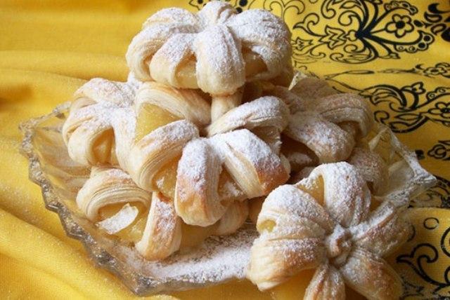 Восхитительные булочки с ананасом