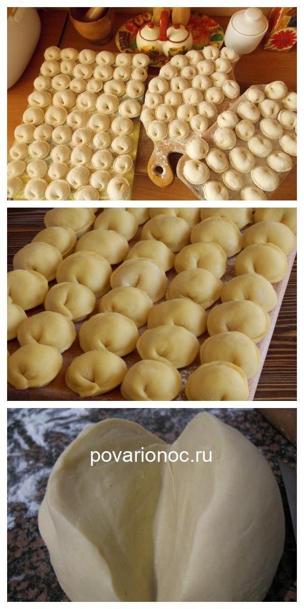 Идеальное тесто для пельменей, вареников и мантов. Блюдо — сказка! Готовить его будете каждый день.