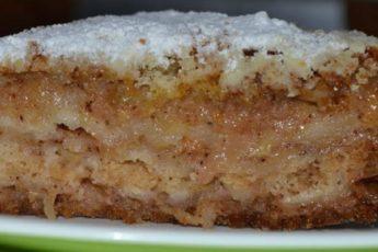 Вкусный яблочный пирог «Домашний»